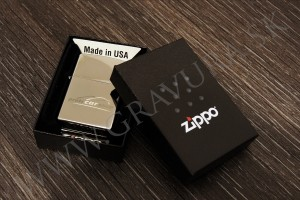 Originál Zippo gravírovaný laserom