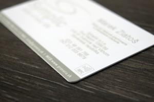 NFC vizitka gravírovaná laserom